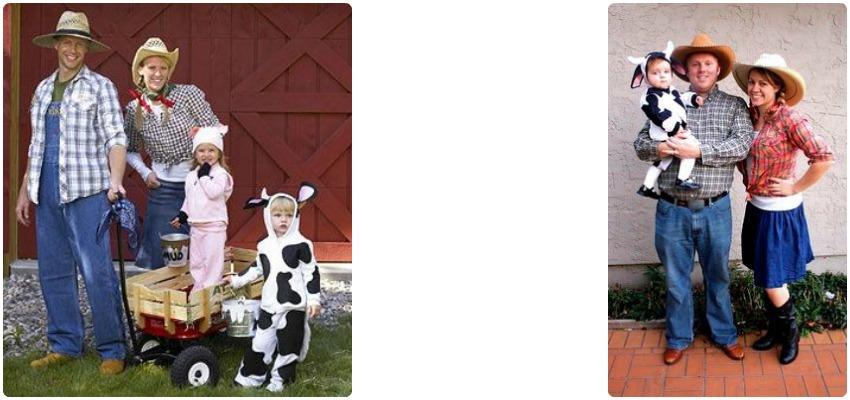 disfraz-familia-coordinados-granjeros-vaca-niños.jpg