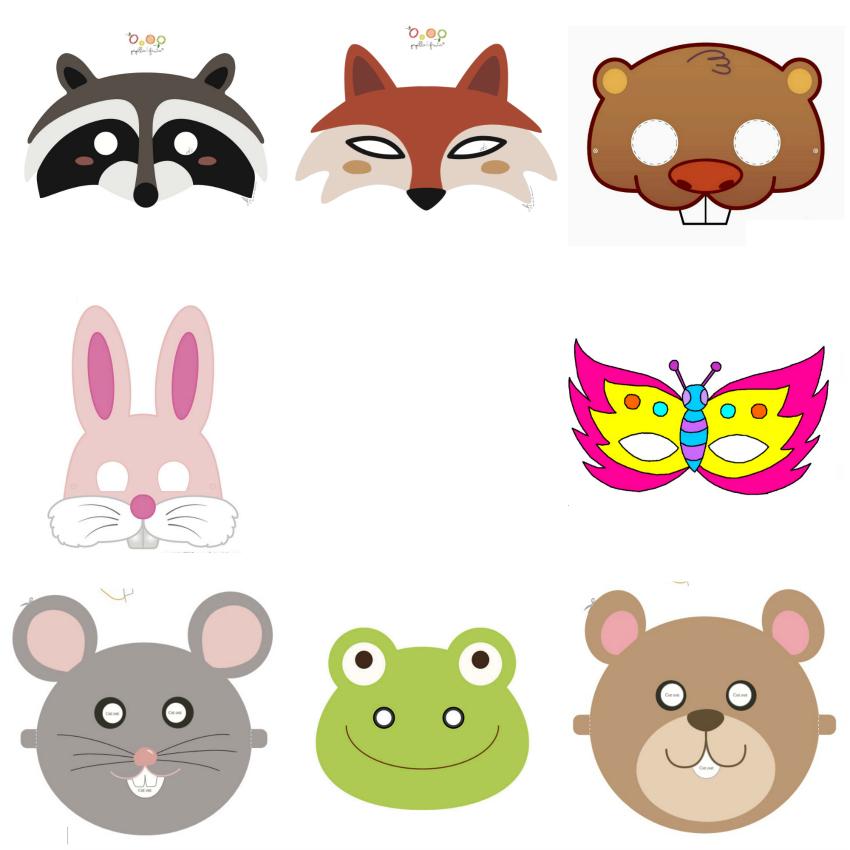 máscaras-caretas-animales-del-bosque-imprimibles-gratis-free-prints.jpg